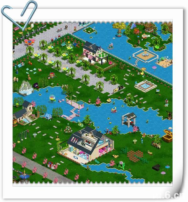庄园地形设计图