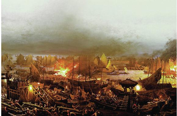火烧敌船等经典故事全新体验