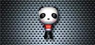 御宅熊猫背包