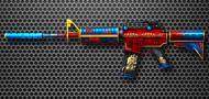 M4A1(消音)-绝影-新年武器