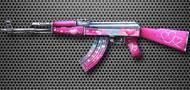 AK47-粉红心